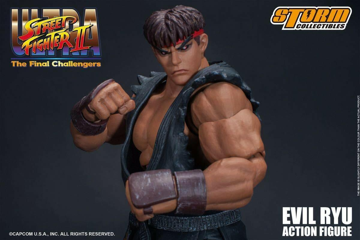 STORM Collectibles STREET FIGHTER II Evil Ryu Japan Versione