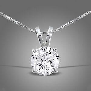 925 Argento Sterling Cristallo Collana Con Ciondolo Diamante Catena Regalo