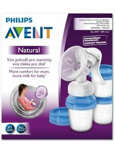 New in Box PHILIPS AVENT Naturel Manuel Sein Pompe SCF330