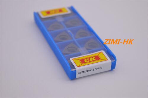 10pcs CK  U Drill  WCMX0080412 BP010  Superior quality Indexable blade dril