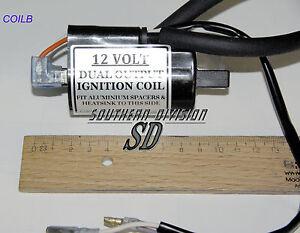 12-volt-Doppelzuendspule-BoyerTwin-Leading-Ignition-coil-4-5-ohm-BSA-Triumph