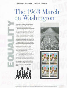 923-Forever-1963-March-on-Washington-4804-USPS-Commemorative-Stamp-Panel