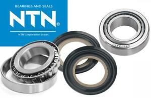 STEERING HEAD BEARING KIT & Both Seals for Honda CRF150 R F CRF 150 NTN Bearings