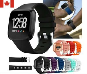 New-Silicone-Sport-Band-Replacement-Soft-Bracelet-Strap-For-Fitbit-Versa-S-L