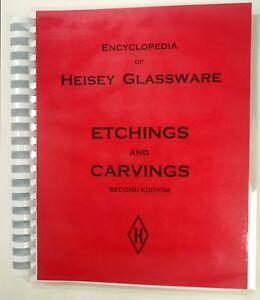Encyclopedia of heisey glassware etchings and carvings book ebay