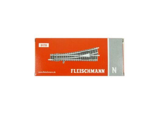 neu OVP Weiche links Fleischmann N 9178