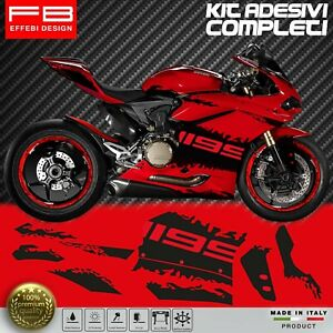 Adesivi-Stickers-Kit-Ducati-1199-Panigale-Corse-FACILE-APPLICAZIONE-ALTA-QUALITA