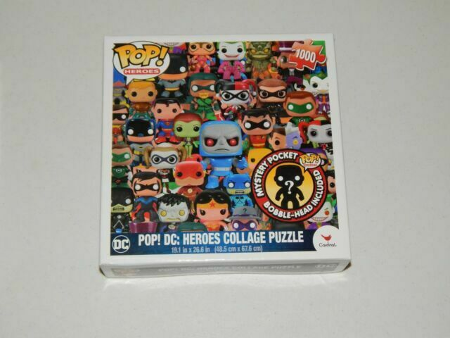 Pop Heroes Collage 1000 Pc Puzzle Funko Cardinal Dc 2015 For Sale Online Ebay
