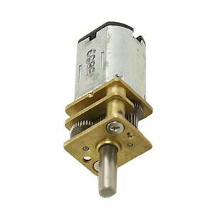 6X-400RPM-6V-0-45A-hohes-Drehmoment-Mini-elektrische-DC-Getriebemotor-fuer-DIY