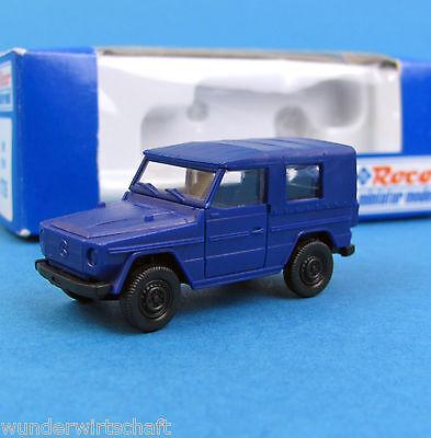 Roco H0 1726 MB G-Klasse THW unbedruckt Blau Geländewagen Wolf HO 1:87 OVP