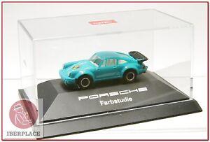 H0-escala-1-87-ho-maqueta-modelismo-coche-auto-car-Herpa-Porsche-Farbstudie