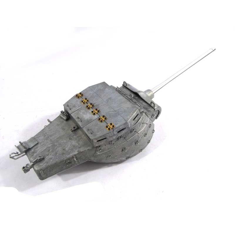 Mato Metal Turret With Servo  For 1 16 100% completare M36B1 Destroyer RC Tank  grandi prezzi scontati