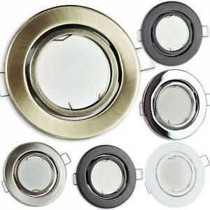 LED-Einbaustrahler-5-7W-schwenkbar-rund-MR16-12V-Spot-65mm-Lampe-Einbaustrahler
