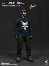 Easy & Simple Agency GRS Action Figure 1/6 26010 NAVY SHIRT, PANTS, TEE, PATCHES