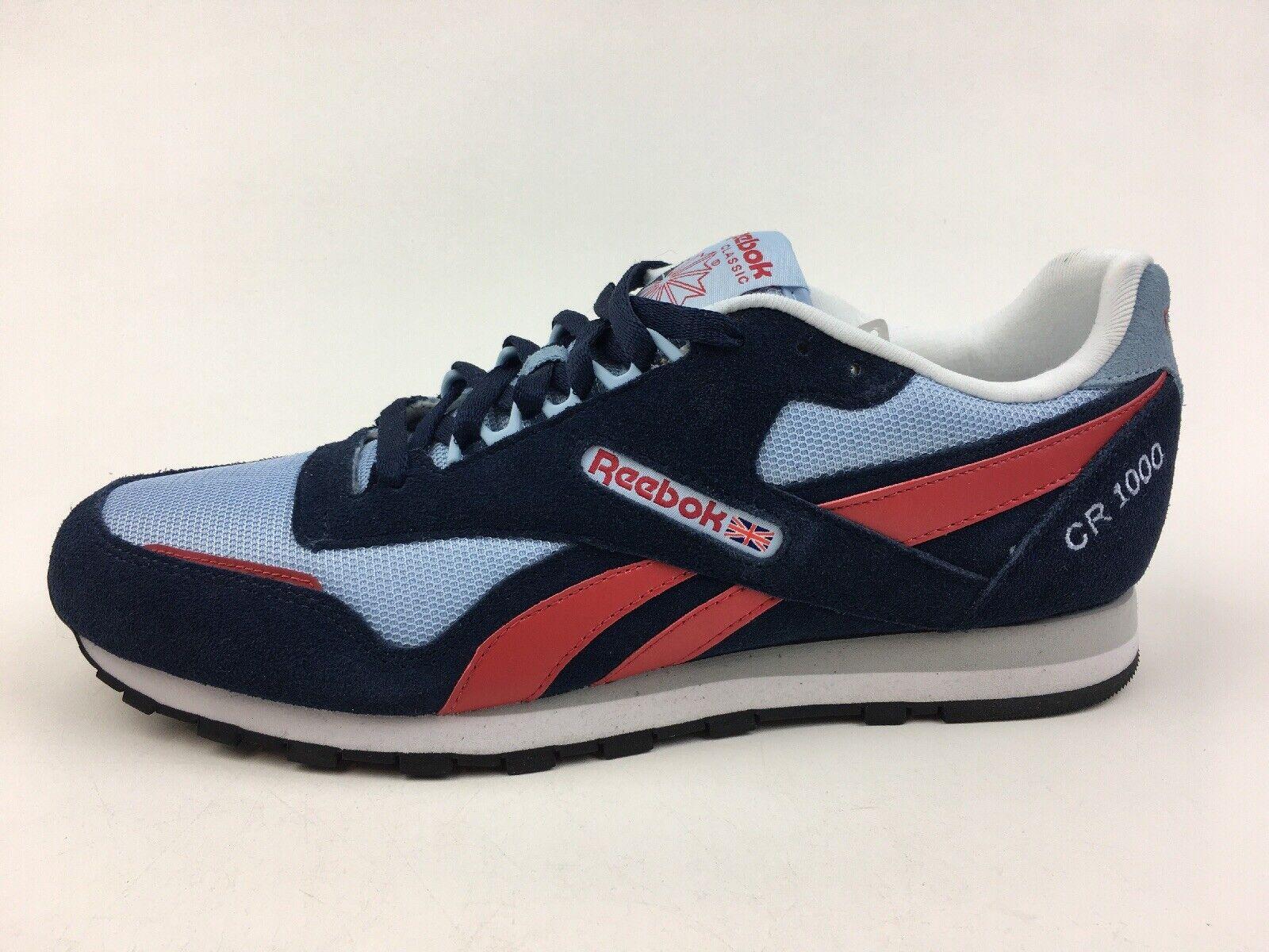 Reebok Classic CR 1000 Atletiska Atletiska Atletiska skor Män 65533;65533;s Storlek 11.5, Navy 2609  billig och högsta kvalitet