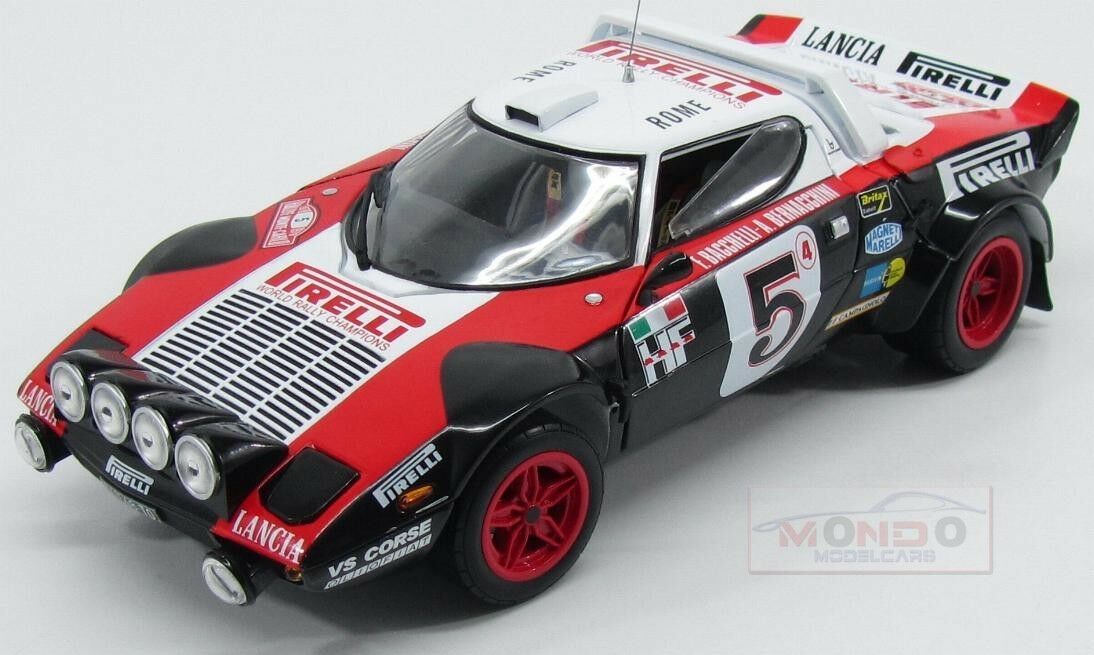 Lancia Stratos Hf  5 Rally Montecarlo 1978 Bacchelli Sunstar 1 18 SS4561