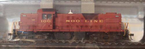 DC Version Atlas Classic Silver HO #10001441 Soo Line RS-1 Loco Rd #100