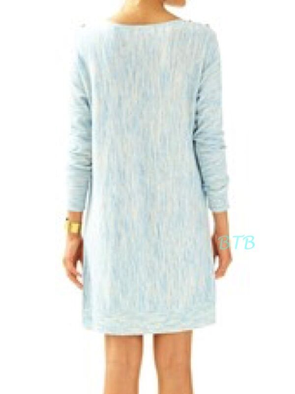 f54006ccf5 Lilly Pulitzer Jupiter Sweater Dress Lapis Blue Space Dye XS for ...