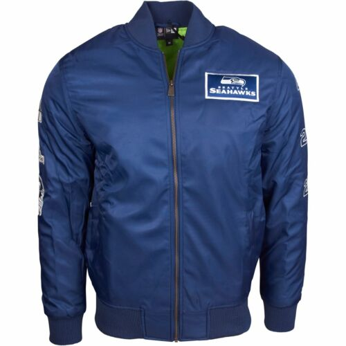 NEW Era Bomber Giacca Bowl 50-NFL Seattle Seahawks