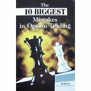 Mistakes in option trading