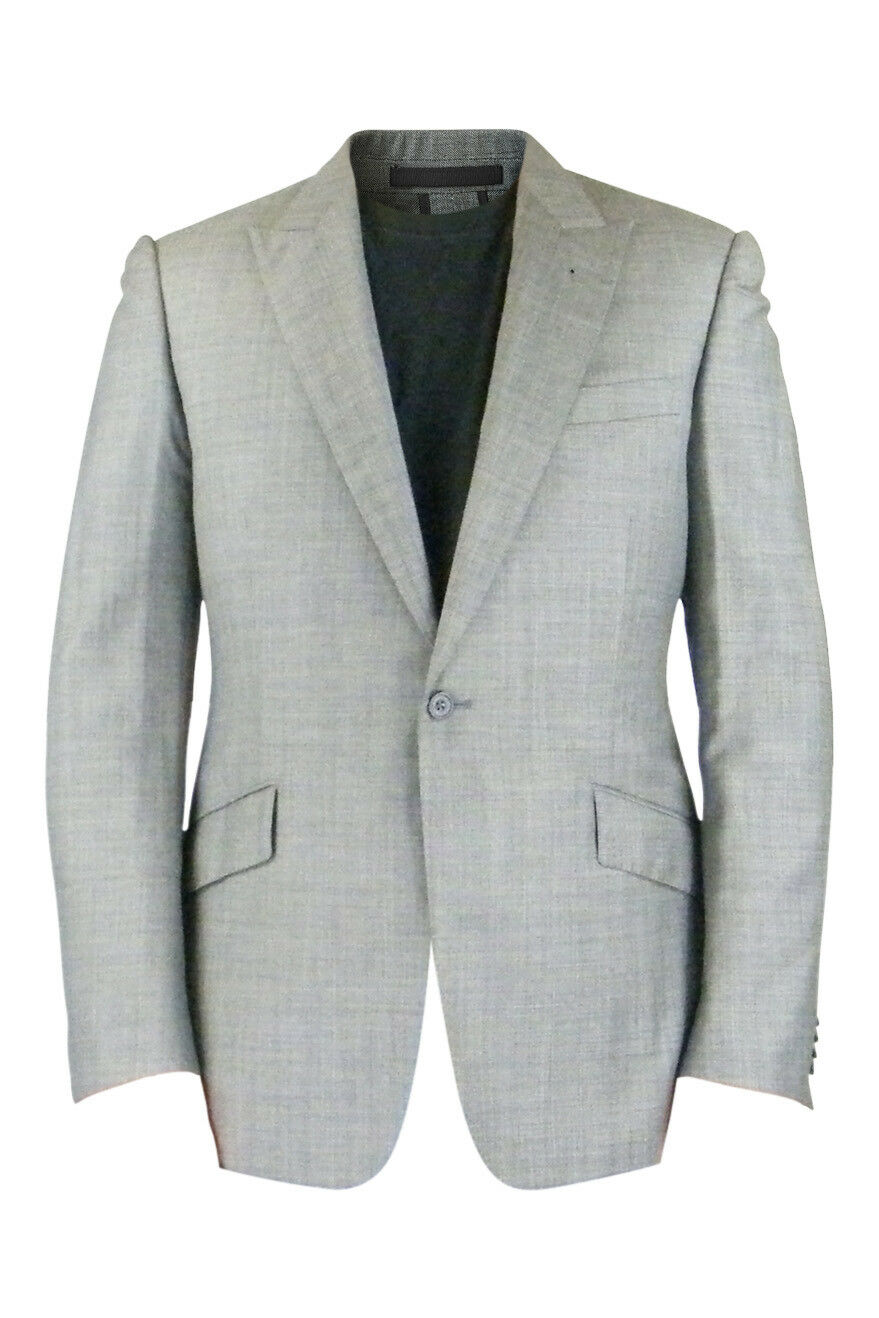 RAKE DESIGNER Herren SINGLE BREASTED WOOL BLAZER grau(38)