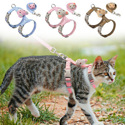 Cat Harness And Leash For Walking