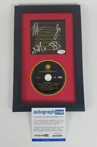 Rise-Against-Autographed-Signed-Ghost-Note-Symphonies-CD-Framed-ACOA