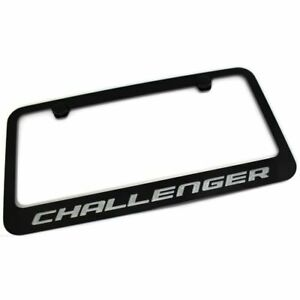 Dodge Charger /& Challenger Manual Moving Retractable License Plate Frame