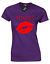 MWAH LADIES T SHIRT KISS KISSES LIPS LIPSTICK LOVE HUGS VALENTINES SLOGAN GIFT