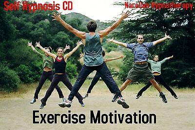 Exercise Motivation-Hypnosis Cd-Narellan Hypnotherapy