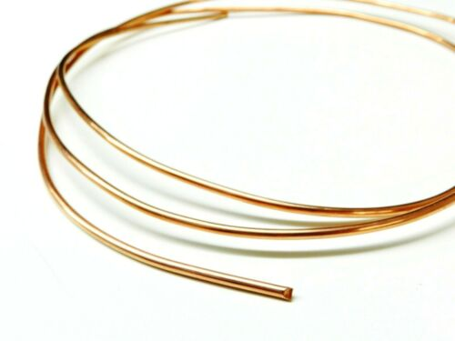 8Ga Copper Wire Dead Soft Pure Round Copper Wire 5/' Coil 8 Gauge Jewelry Craft