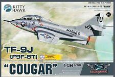"""Kitty Hawk KH80129 1/48 TF-9J(F9F-8T) """"Cougar"""""""