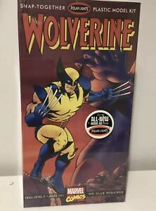 Polar-Lights-Wolverine-PLASTIC-MODEL-KIT-MARVEL-COMICS-NUOVO-SIGILLATO-8-fumetto