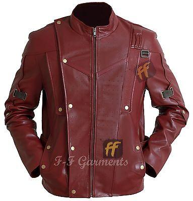 New Guardians Of The Galaxy Peter Quill Star Lord Chris Pratt Slim Fit Jacket