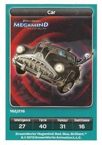 Card-Carrefour-Dreamworks-Megamind-Car-No-162