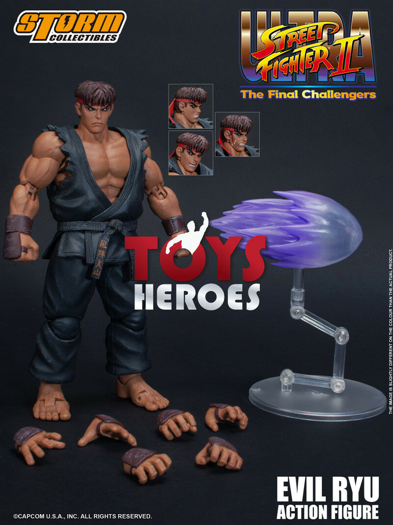 STORM COLLECTIBLES EVIL RYU STREET FIGHTER II THE FINAL CHALLENGERS Preorder