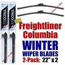 WINTER Wipers 2pk Premium 2000-2011 2014-2015 Freightliner Columbia 35220x2