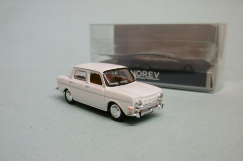 Norev-simca 1000 gls 1968 white Fontenoy new nbo oh 1//87
