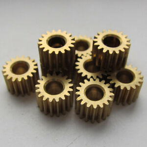 10PCS Brass Gear for Steampunk, Altered Art (u349)
