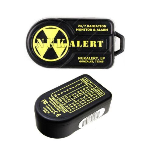 Alarm Monitor New NukAlertTM Nuclear Radiation Detector keychain Attachable