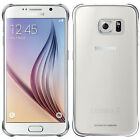 Genuine Official Samsung Galaxy S6 Clear Cover Case - Silver