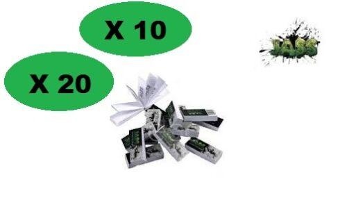 Filtre carton JASS slim Filtertips carton 18 mm taille M cale toncar