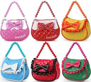 Baby Kids Toddler Girls Handbag Tote Shoulder Messenger Sling Bag ...