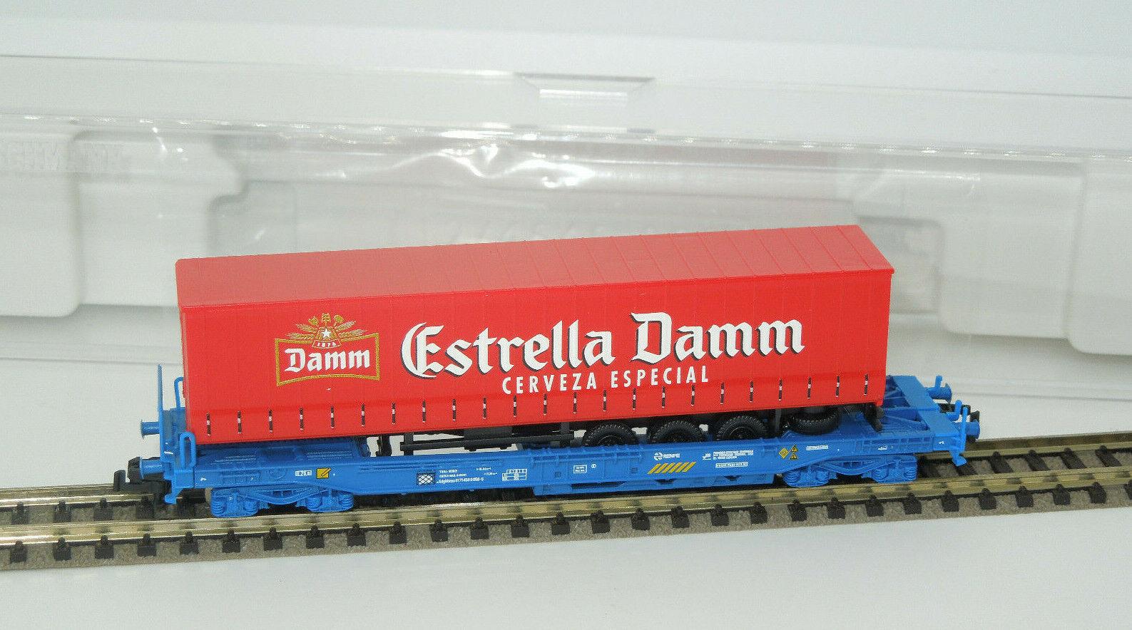 Fleischuomon Spur N 845351 K unità tasche autorello ESTRELLA DAMM RENFE Lo