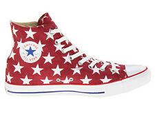 Men Converse Chuck Taylor All Star Hi Top Shoes Size 8 Red White 136615F Jester