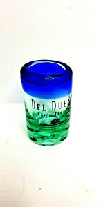 Del-Dueno-Tequila-Shot-Glass-Rounded-Rim-USED