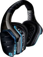 Logitech G933 On-Ear USB Wireless Bluetooth Gaming Headphones (Black)