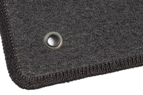 Anthrazit Textil Fußmatten 2012-2016 Graphit Hyundai i30 II GD Bj