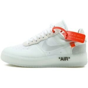Nike X Off White Sneakers The 10: Nike Air Force 1 Low