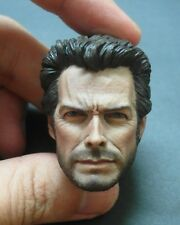 Custom made 1/6 Scale Clint Eastwood Head Sculpt For Hot Toys Body